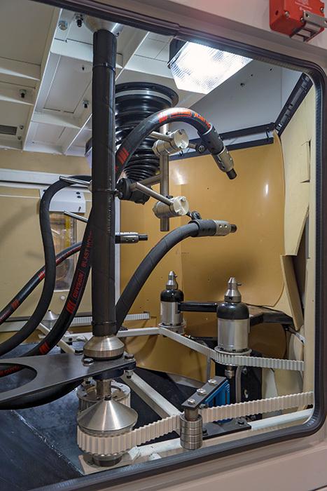Le système de grenaillage aux billes de verre RXS900