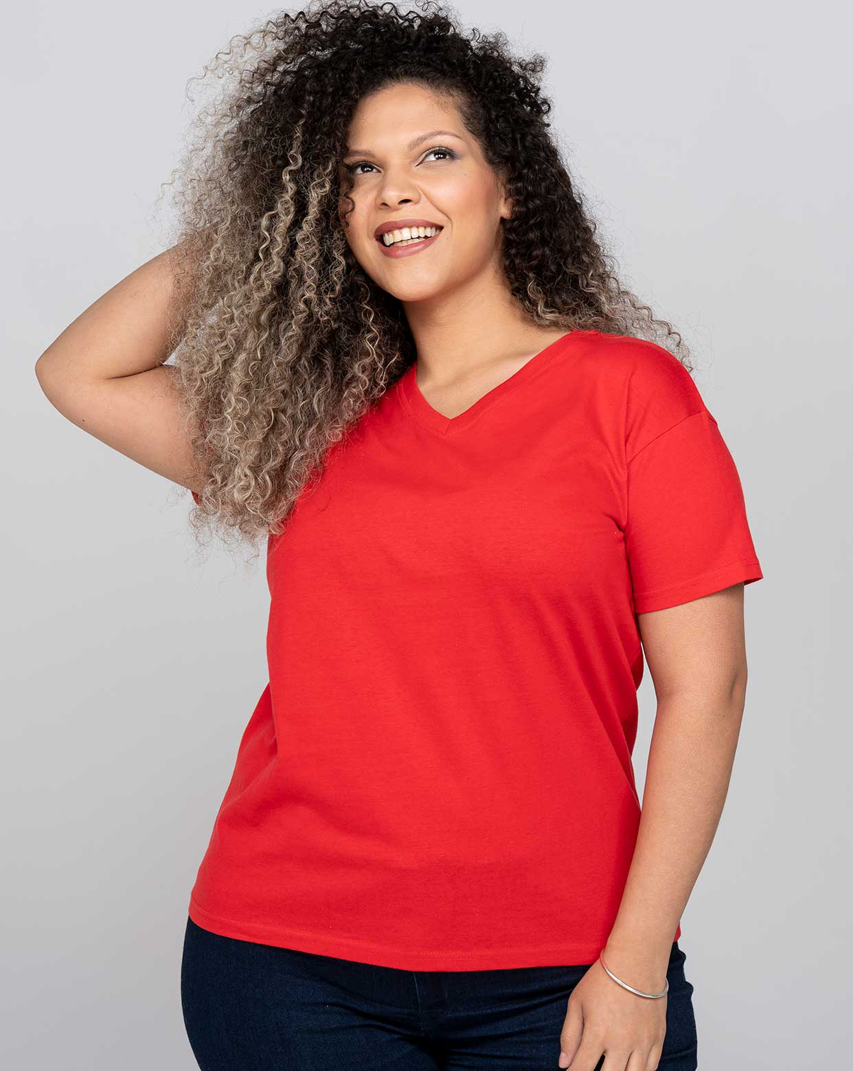 Curves V-Neck - CURVSPICO