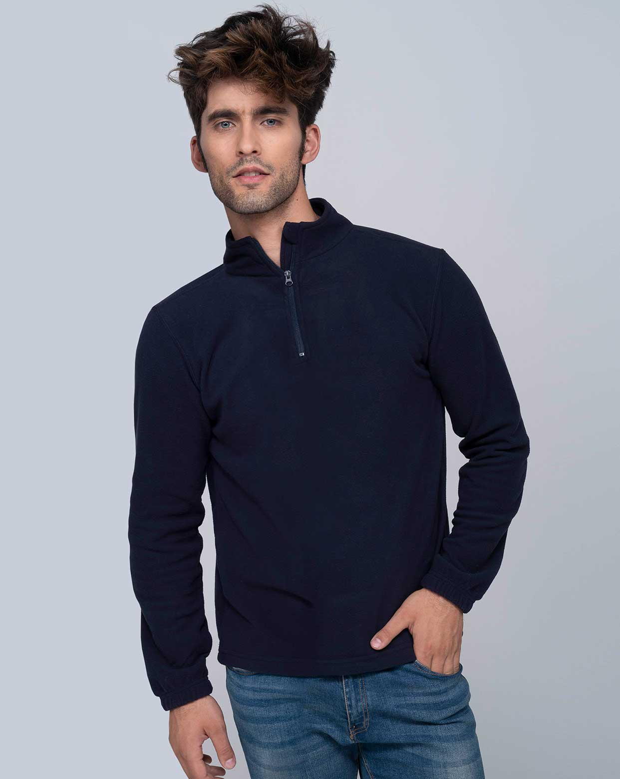 Man Micro Polar Fleece  - MICFLEMAN