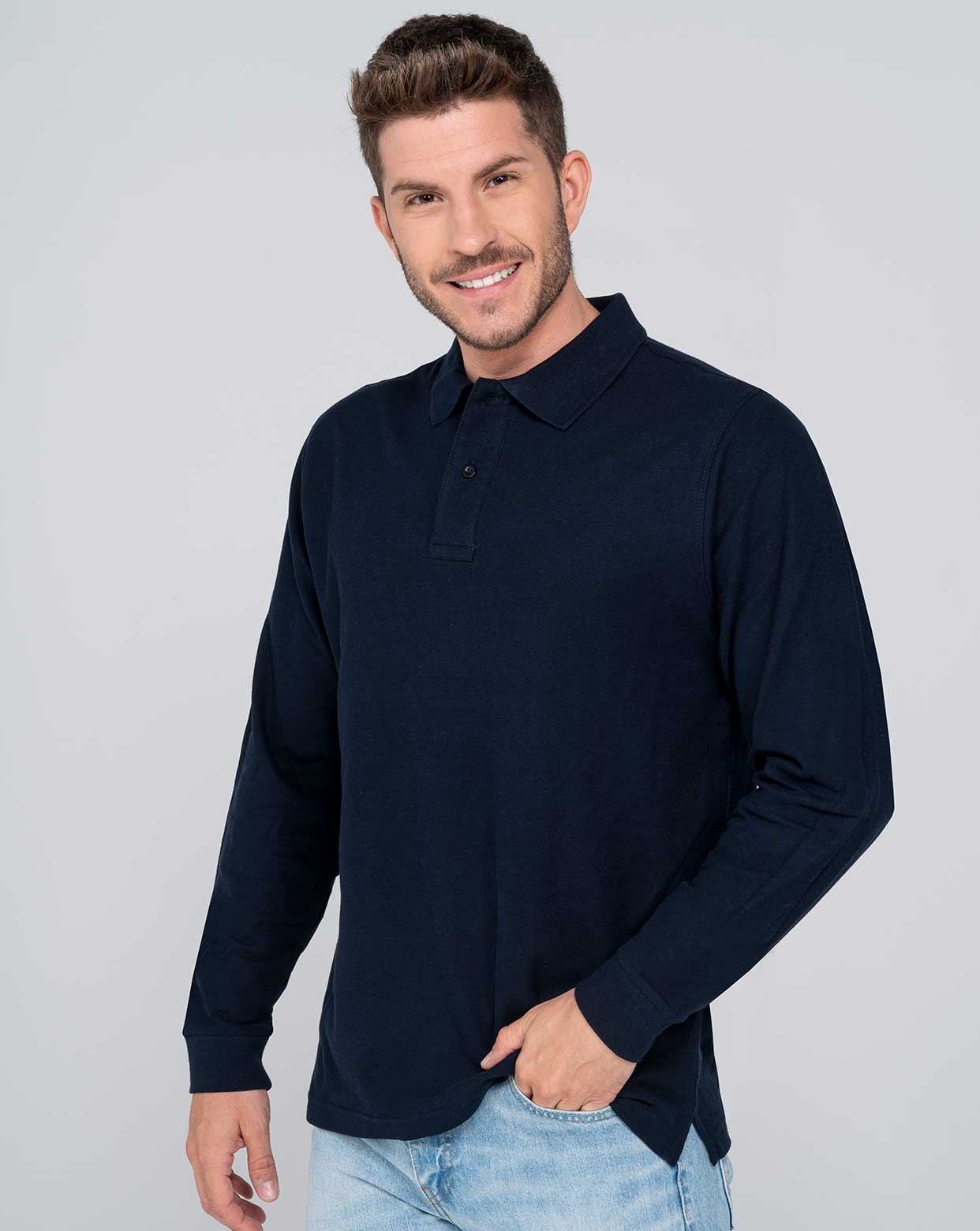 Man Regular LS Polo  - PORA210LS
