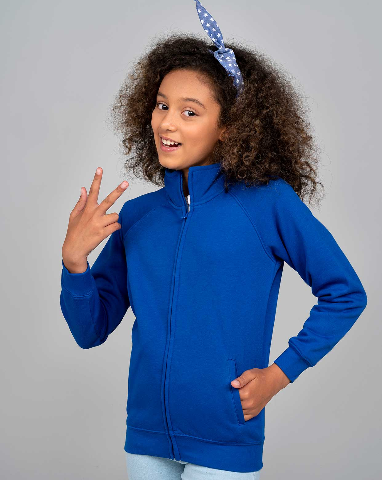 Kid Full Zip Sweatshirt - SWRKFUZIP
