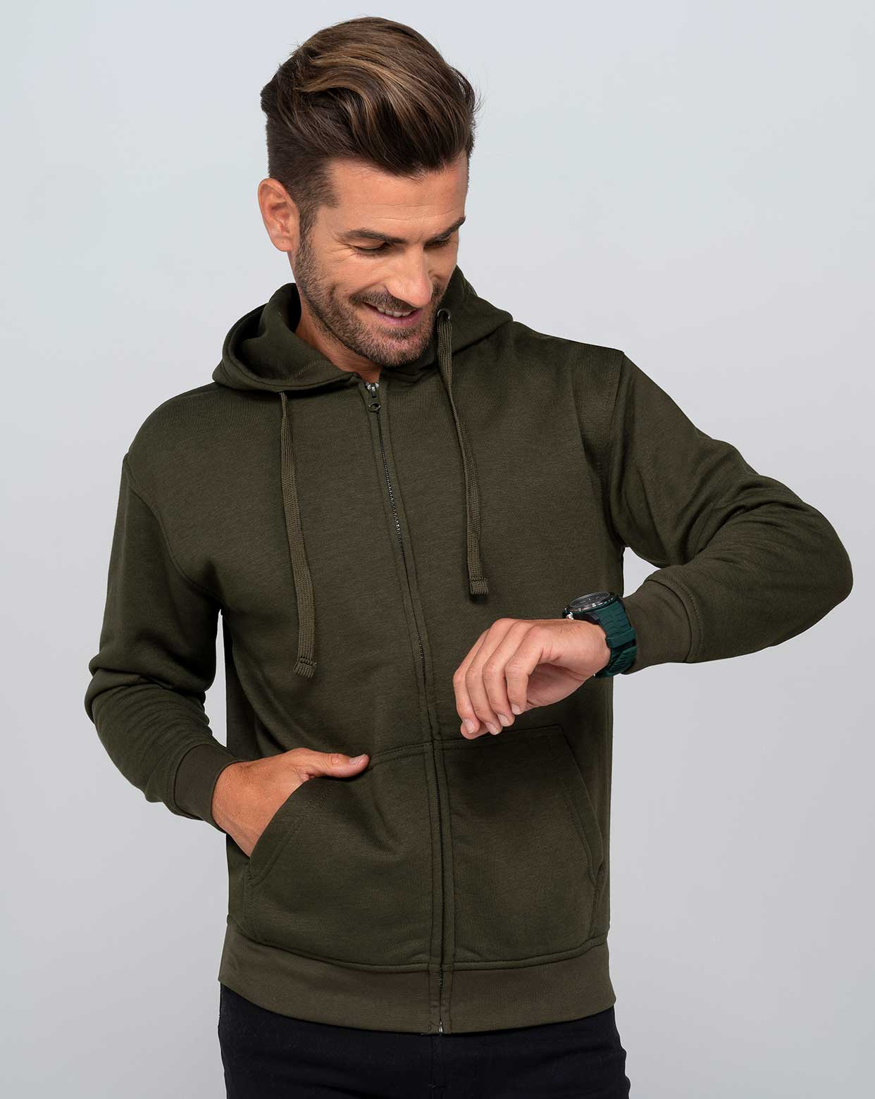 Hooded Sweatshirt Unisex - SWUAHOOD