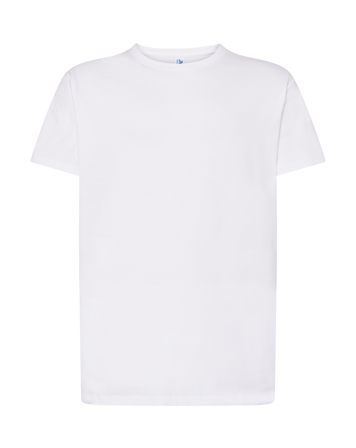 WHITE LONG T-SHIRT KING SIZE - TSRA150WLTKS