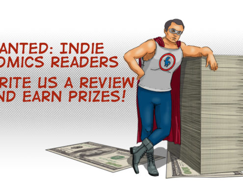 rextale production review comics win prizes