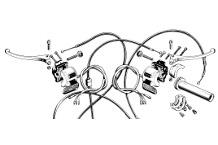 Control Levers & Twist Grips