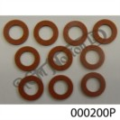 """3/8"""" (10MM) RED FIBRE WASHER (PACK OF 10)"""