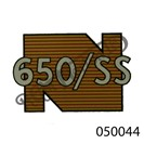 REAR MUDGUARD TRANSFER 650SS