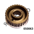 ALLOY BELT DRIVE PULLEY 28 TEETH 27MM WIDE FOR ALL PRE COMMANDO ALTERNATOR TWINS