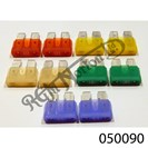 PACK OF BLADE TYPE FUSES
