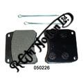 BRAKE PADS FOR CP2696, CP3697, GRIMECA, TRIUMPH & LOCKHEED CALIPERS