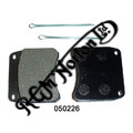 BRAKE PADS FOR CP2696, CP3697, GRIMECA, TRIUMPH & LOCKHEED CALIPERS