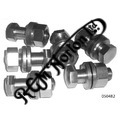 FEATHERBED ENGINE PLATE FITTING SET, SHAPED BOLTS, NUTS & WASHERS (STAINLESS)