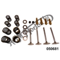 CYLINDER HEAD OVERHAUL KIT WITH COLSIBRO VALVE GUIDES, 750 COMMANDO