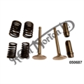 CYLINDER HEAD OVERHAUL KIT, 350 OHV SINGLE PRE 1959