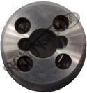 SPECIAL COMMANDO FORK STANCHION TOP NUT, STAINLESS