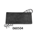 TAIL FAIRING BRACKET RUBBER PAD, .750 X 1.500 X 0.06