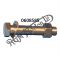 """BOLT (1 15/16"""" U.H), NUT AND WASHER FOR Z PLATE TO FRAME"""