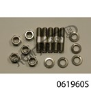 DISC TO HUB SET, STAINLESS STUDS, NUTS & WASHERS