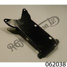 REAR NUMBER PLATE MOUNT, PAINTED BLACK