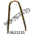 TUBULAR STAY FOR COMMANDO FRONT MUDGUARD, STAINLESS STEEL