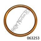 EXHAUST PIPE TO HEAD SEAL WASHER, COPPER, TWIN