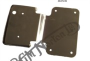 REAR NUMBER PLATE MOUNT, 850 TYPE 1973 ON