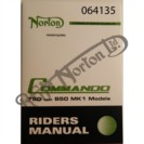 750/850 RIDERS HANDBOOK (FROM ENGINE NUMBER 220000)