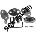 ROCKER SPINDLE OUTER PLATES, MODIFIED TO LOCK SPINDLES