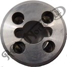 SPECIAL PRE COMMANDO FORK STANCHION TOP NUT, STAINLESS