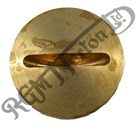 BRASS STANCHION TOP NUT OIL FILLER PLUG