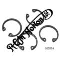 PISTON CIRCLIP SEGAR TYPE, TWINS WITH HEPOLITE PISTONS [SET OF 4]
