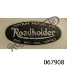 ROADHOLDER DECAL