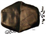 FASTBACK SEAT COVER, BLACK NO EARS (LONG RANGE)