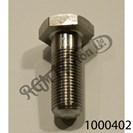 """3/8"""" BSC - 26 TPI GENERIC BOLT 1"""" U.H. STAINLESS"""