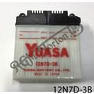 BATTERY YUASA, 12N7D-3B