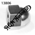 "3/8"" BSC, 26 TPI DOMED NUT"