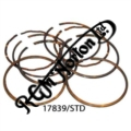 600/650 PISTON RING SET STANDARD COMPLETE