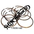600/650 PISTON RING SET +60 COMPLETE