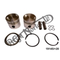 NEW HEPOLITE 750 PISTONS +20 COMPLETE PAIRS