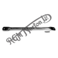 """CHROME FRONT MUDGUARD STAY, SINGLE NOMINAL 11 1/4"""" (285mm)BETWEEN CENTRES (1)"""