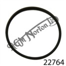 PETROL TANK RUBBER RETAINING BAND, SLIMLINE, FEATHERBED, REAR