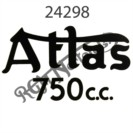ATLAS 750CC TRANSFER, BLACK 1962-1968