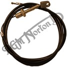 FRONT BRAKE CABLE, PEAR NIPPLE, 26 TPI
