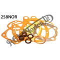 FULL GASKET SET, 500/600 OHV, SINGLE 1957-1958, ES2 1957-66