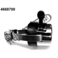 CHROME UNIVERSAL DIP SWITCH HI/LOW (2 POSITION TOGGLE SWITCH) (CLAMP ON TYPE)