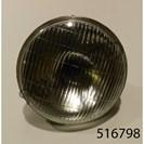 "7"" PRE FOCUS HEADLAMP GLASS & REFLECTOR (UK MARKET LEFT HAND DIP)"