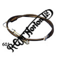 """NORTON COMMANDO FRONT BRAKE CABLE WITHOUT A SWITCH (37"""")"""