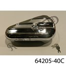 CHROME PLATED KIDNEY STYLE TOOL BOX