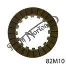 "CLUTCH FRICTION PLATE, 1/2"" x 1/2"" STEEL"