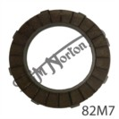 CLUTCH FRICTION PLATE, OUTER TAGS
